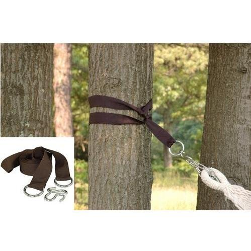 Bliss Hammocks Set w Poly Nylon Tree Straps and Rust Proof S Hooks