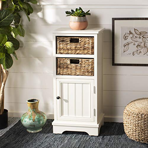 (Safavieh American Homes Collection Connery Distressed White)