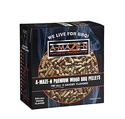 Wood BBQ Pellets from A-MAZE-N