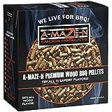 A-MAZE-N AMNP2-SPL-0002 100% Premium Wood BBQ Smoker Pellets, Apple, 2 Pounds