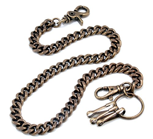 Doublek Basic Biker Trucker Keychain Key Jean Wallet Chain (23