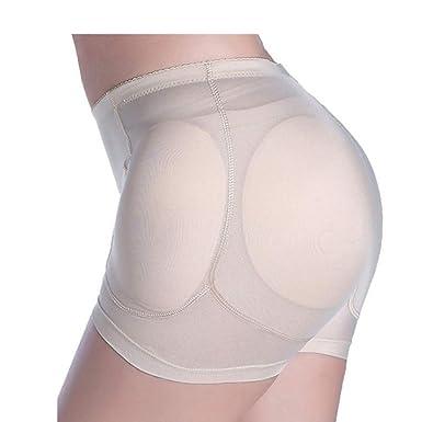6fc377dd3d8 DOCOLA Sexy Women Wedding Dress Hip Butt Lifter Shapers Control Panties  Removable Padded Slimming Underwear Beige