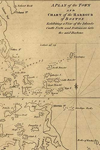 - A plan of the town and chart of the harbour of Boston / exhibiting a view of the islands, castle forts, and entrances into the said harbour: A Poetose ... pages/25 sheets) (Poetose Notebooks: Boston)