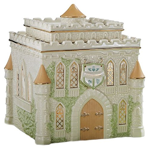 (My Irish Castle Cookie Jar by Lenox)