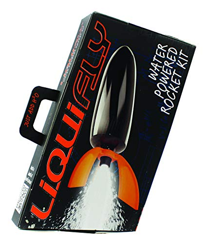 Deluxe Liquifly Water Powered Rocket Kit | DIY STEM Toy Set | Build Your Own Water Rocket