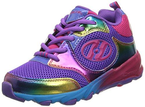 Heelys Race Skate Shoe (Little Kid/Big Kid),Purple/Rainbow,2 M US Little Kid