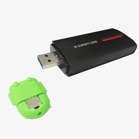 Portátil M.2 (NGFF) SSD a USB 3.0 Disco duro externo portátil (USB ...