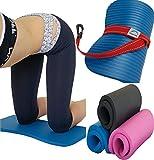 yoga knee pads - SISYAMA Yoga Exercise Workout Knee Pad Cushion w/Sling 20