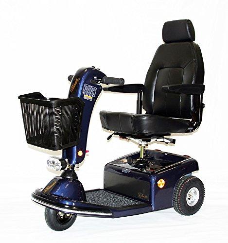 - Shoprider Sunrunner 3 Wheel Scooter, Blue