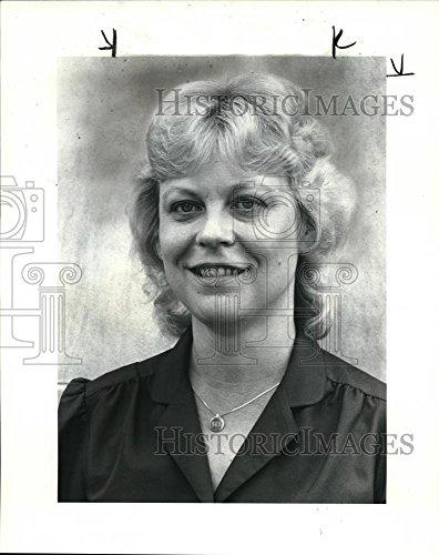 Vintage Photos Historic Images 1984 Press Photo Diane Schilling, Regional Director Jaycee Women - 10 x 8 in