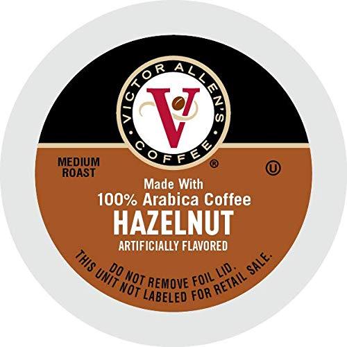 Hazelnut for K-Cup Keurig 2.0 Brewers, 42 Count, Victor Allen's Coffee Medium Roast Single Serve Coffee Pods: Amazon.com: Grocery & Gourmet Food