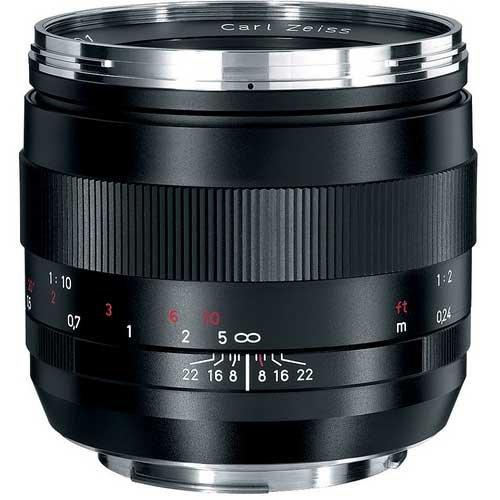 Zeiss Ikon 50mm f/2.0 Makro Planar ZE MF Macro Lens (Canon EOS-Mount)