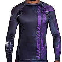 Jiu Jitsu Purple Belt Ranked Rashguard