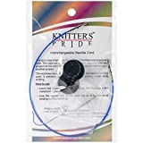 "Knitter's Pride Interchangeable Cords, 11"", Blue"