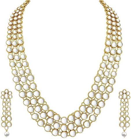 Aheli Bollywood Wedding Necklace Jewelry product image