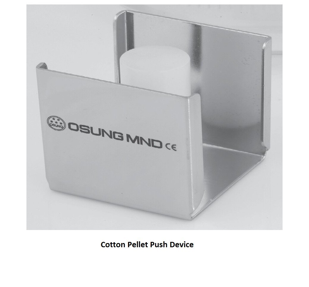 Cotton Pellet Push Device by Osung