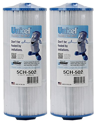 2) Unicel 5CH-502 Marquis Spa Filter Replacement 20041 20042 Cartridges (Marquis Spas)