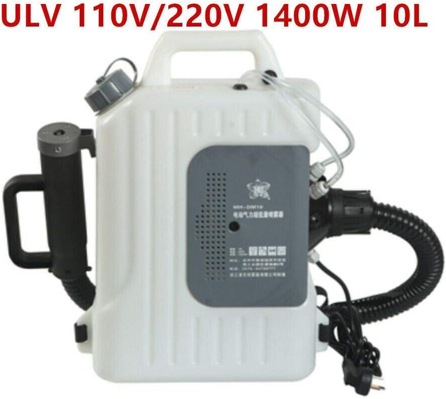 10L Electric ULV Sprayer fogger Cold fogging Machine 110V 1400W
