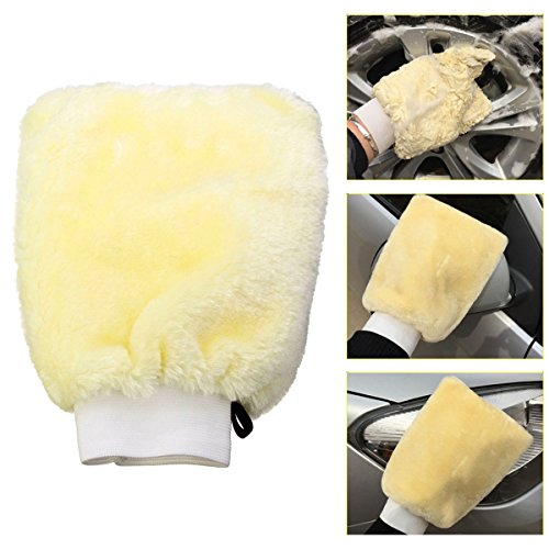 MATCC Microfiber Car Washing Mitt Glove Duster Cleaning Glove For Car Truck , Motorcycle