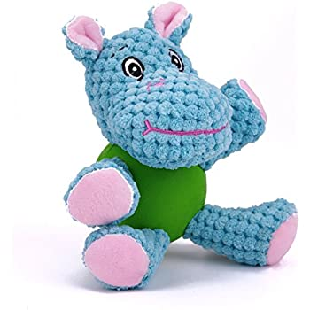 Pet Supplies : EETOYS Interactive Squeaky Plush Toy, Low