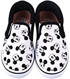 Disney Mickey Mouse White Boys Girls Slip-On Sneaker Shoes (Toddler/Youth)
