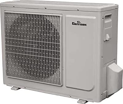 GARRISON 2465579 R-410A Outdoor Mini-Split Ductless Heat Pump, 18000 BTU, White