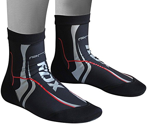 RDX Ankle Support Neoprene Brace Socks Achilles Tendon Pain Foot Guard MMA Pad