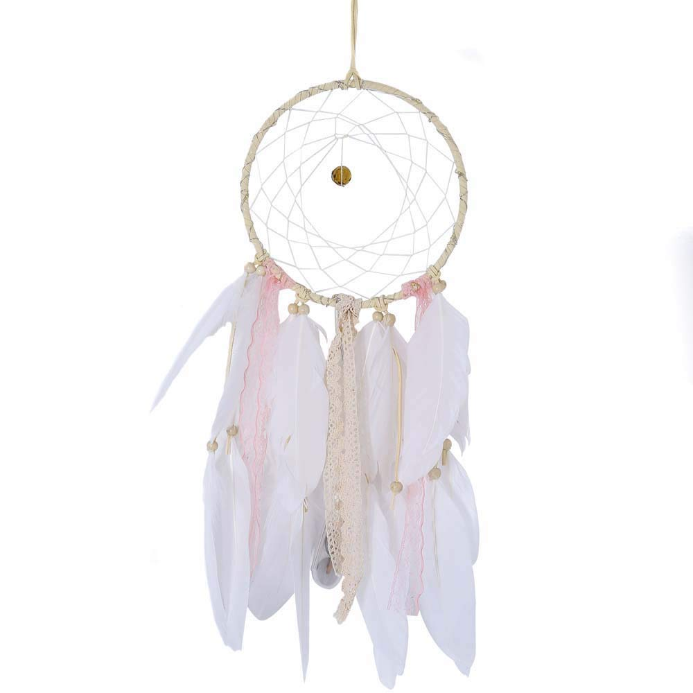 Topgee LED Dream Catcher Dreamcatcher Girl Birthday Gift Baby Room Decor Traditional Feather Home