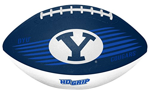 Rawlings NCAA BYU Cougars Unisex 07903008111NCAA Downfield Youth Football (All Team Options), Blue, One Size