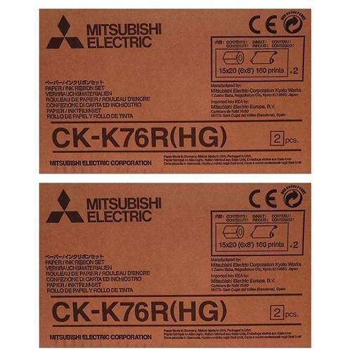 Photo Ink Set - Mitsubishi 2xCK-K76RHG 6