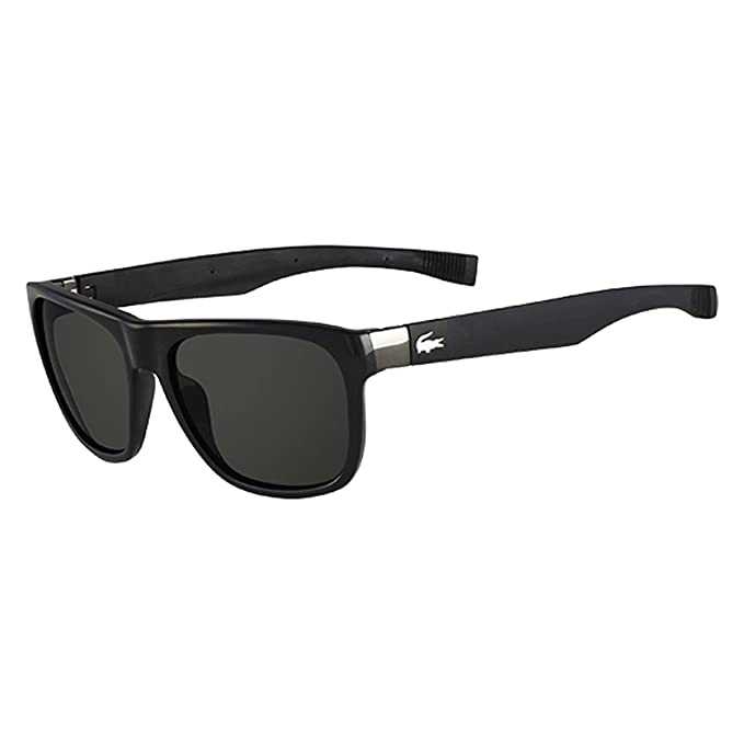 Lacoste Gafas de Sol L664S 001 55 (55 mm) Negro: Amazon.es ...