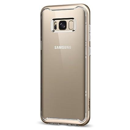 Amazon.com: Spigen Neo - Carcasa híbrida para Galaxy S8 Plus ...