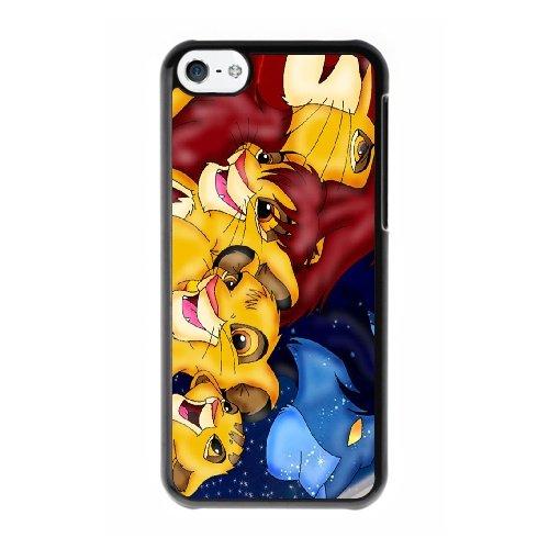 Coque,Coque iphone 5C Case Coque, The Lion King 3 Cover For Coque iphone 5C Cell Phone Case Cover Noir