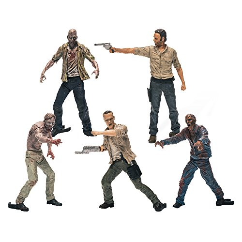 McFarlane Toys Building Sets- The Walking Dead TV Figure Pack 1]()