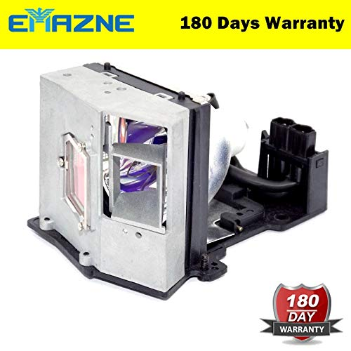 Emazne BL-FU250D Projector Replacement Compatible Lamp with Housing for Optoma EzPro 751 Optoma EP758 Optoma H57 Optoma EzPro 758 Optoma EP751 Viewsonic PJ755D ()