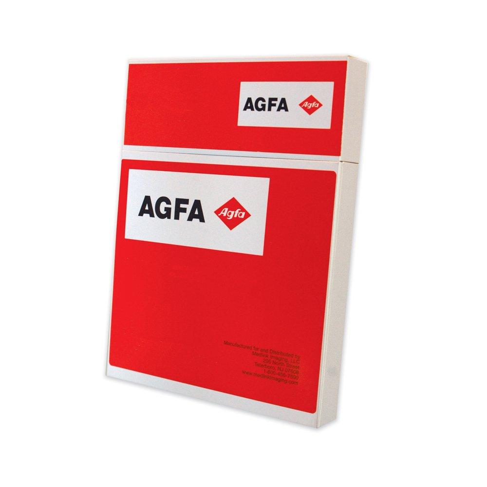 Image of AGFA RADIOMAT PCB1417 X-Ray Film, Full Speed, 14' x 17', Blue Sensitive (Pack of 100) X-Ray Film
