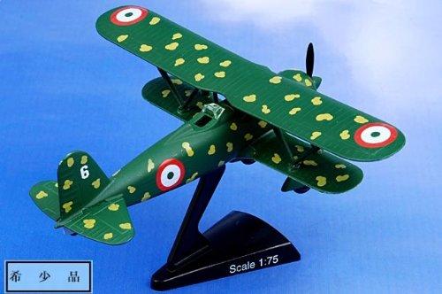 1:75 モデル パワー 郵便 Stamp Planes 5347 Fiat CR.42 Falco ダイキャスト モデル Regia Aeronautica 並行輸入品