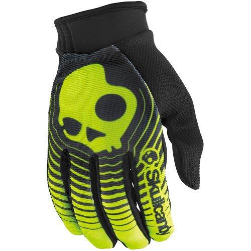 Answer Racing Skullcandy Decibel Men's Dirt Bike Motorcycle Gloves - Black/Green / X-Large