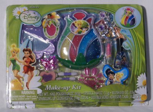 Disney Fairies Make-up Kit & Jewelry TinkerBell and the P...