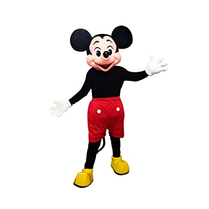Amazon.com: KF Mickey Mouse Mascot Costume Adult Size ...