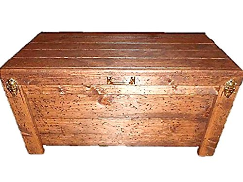 Wood Hope Chest Storage Hidden Compartment Compartment Chest
