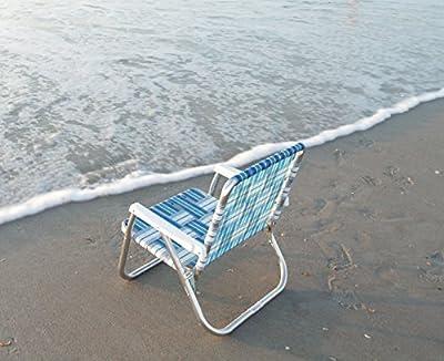 Lawn Chair USA Aluminum Webbed Chair