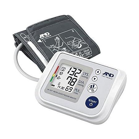A&D Medical-767F Tensiómetro de Brazo, color blanco: Amazon.es: Salud y cuidado personal