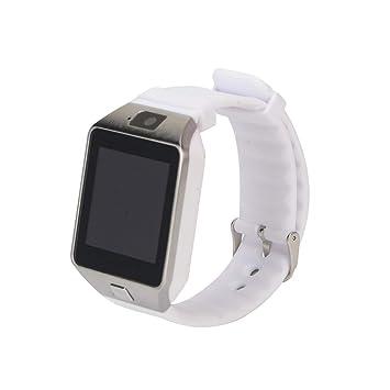 Funnyrunstore niños Adultos Reloj Inteligente Smartwatch DZ09 ...