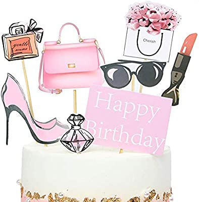 Fine Amazon Com Stechop Creative City Women Cupcake Toppers Happy Funny Birthday Cards Online Drosicarndamsfinfo