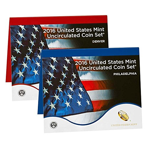 2016 P & D Uncirculated Coin Set Mint Packaged