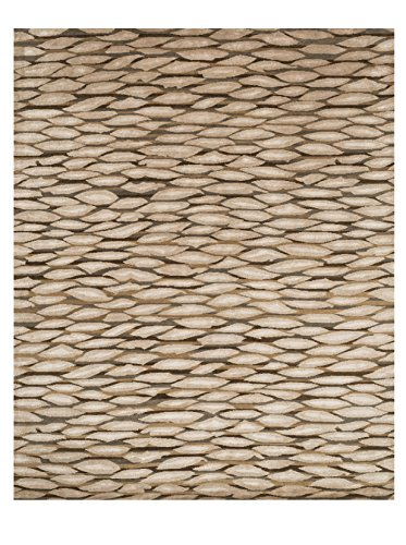 2' x 3' Rectangular Loloi Accent Rug HERMHE-04TO002030 Tobacco Color Handmade in India ''Hermitage Collection'' by Loloi