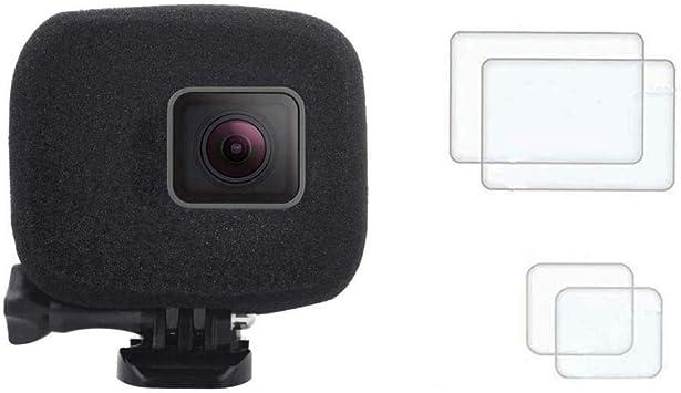 WindSlayer Foam Windscreen Windshield For Gopro Hero 7 6 5 black Action Camera