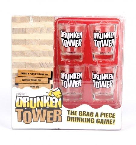 Homeware Drunken Tower Drinking Game by Homeware