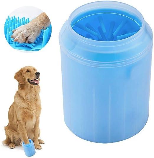 WINNER POP Taza portátil para Limpieza de Perros - Aspiradora de la Pata del Animal doméstico Arcilla